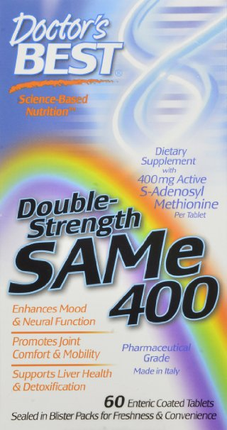 Doctor's Best SAM-e 400 mg