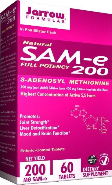 Jarrow Formulas SAM-e 200 mg