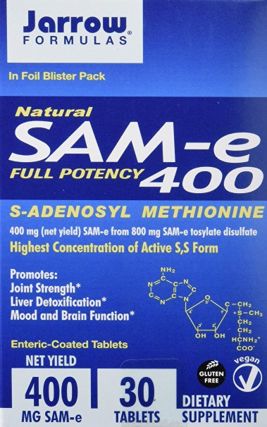 Jarrow Formulas SAM-e 400 mg